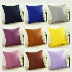 Pillowcase Home Couch Sofa Decor Throw Pillow Cover Case Cus