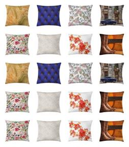 Ambesonne Square Throw Pillow Case for Couch & Bed Decor Cus