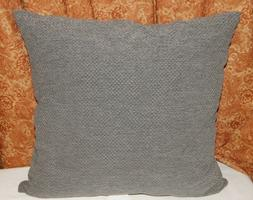 Threshold Grey Throw Toss Pillow Basketweave Waffle Filled D