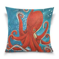 ALAZA Throw Pillow Case Decorative Cushion Cover Square Pill