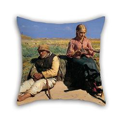 Throw Pillow Case 16 X 16 Inches / 40 By 40 Cm Nice Choice F