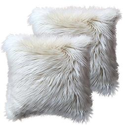 FabricMCC Throw Pillow Cover 18 inch Square Home Decorative
