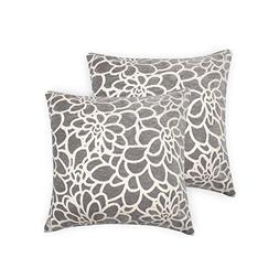 ALBAD Throw Pillow Cover 20 x 20 Inch Sets of 2 Decorative S