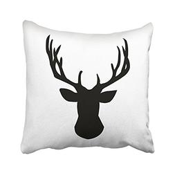 Acelive 18 X 18 Inches Throw Pillow Covers Black And White D