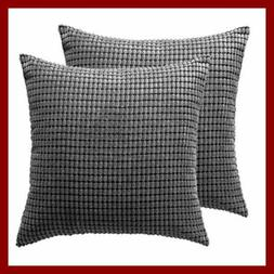 CaliTime Throw Pillow Covers Cases for Couch Sofa Home Decor