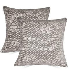MRNIU Set of 2 Throw Pillow Covers Coastal Cushions Cotton H