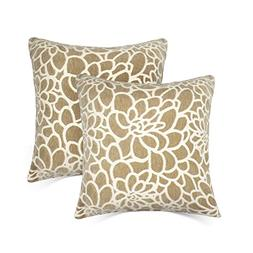 Throw Pillow Covers Coastal Cushions Cotton Home Outdoor Dec
