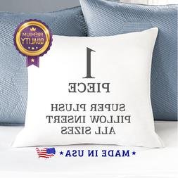 Throw Pillow Form Inserts Hypoallergenic Pillow Stuffing Mad