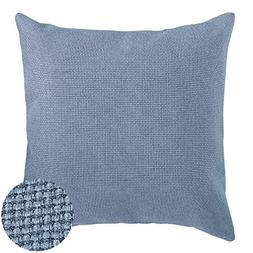Deconovo Throw Pillows Blue Decorative Pillows Pillow Cover