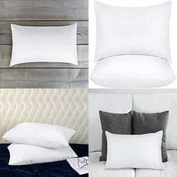 Throw Pillows Insert  - 12 x 20 Inches Bed and Couch Pillows