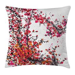 Ambesonne Traditional House Decor Throw Pillow Cushion Cover