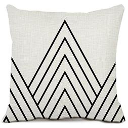 Triangle Decorative Throw Pillow Case Cushion Cover Cotton L