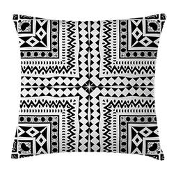 Ambesonne Tribal Decor Throw Pillow Cushion Cover by, Primit