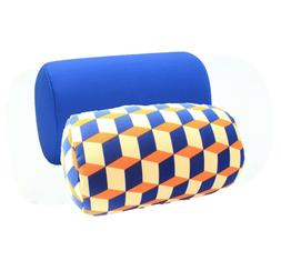 Two Pack Micro Bead Roll Bed Chair Car Cushion Soft Support