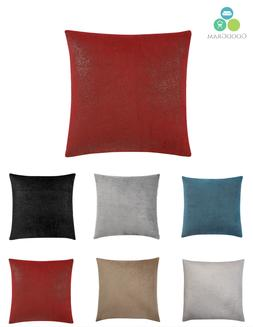 Ultra Plush Over Sized & Over Filled Metallic Throw Pillows