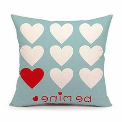 4TH Emotion Valentine's Day Throw Pillow Case Cushion Cover