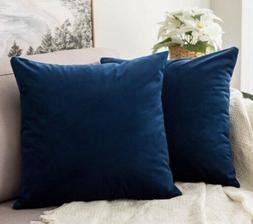 Miulee Velvet Soft Decorative Throw Pillow Cover Case 16""