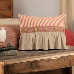 VHC Farmhouse Throw Decorative Accent Pillow Sofa Couch Bedd