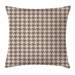 Lunarable Vintage Throw Pillow Cushion Cover, Traditional Sc