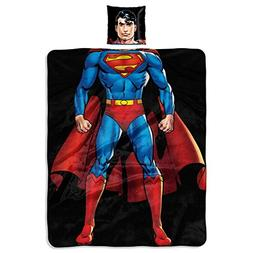 """DC Comics Superman, """"Being Superman"""" 11-Inch Pillow and 40"""""""
