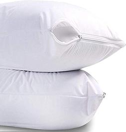 Utopia Bedding Waterproof Zippered Pillow Encasement Bed Bug
