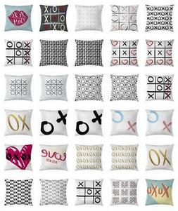 Xo Throw Pillow Cases Cushion Covers Home Decor 8 Sizes Ambe